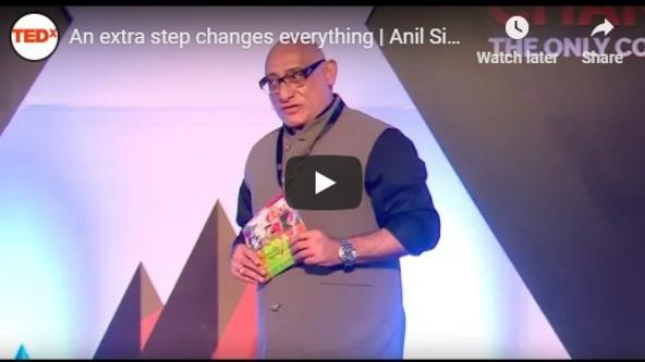 An extra step changes everything   Anil Singh   TEDxPanchgani